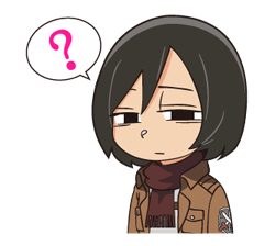 Attack on Titan Stickers 4