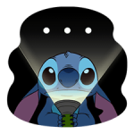 Stitch Mayhem Adesivi 4