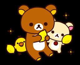 松弛熊&Kiiroitori贴纸 4