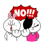 Cony dan Jessica: Girls Night Out Stiker 4