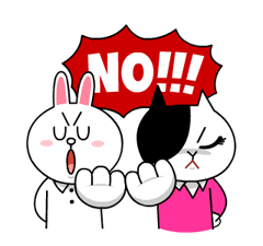 Cony and Jessica: Girls Night Out Stickers 4