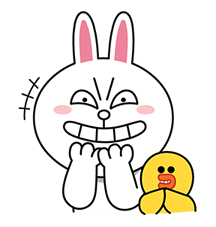 LINE Characters: Screen Hogs Stickers 16