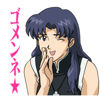 EVANGELION Stickers 4