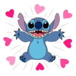 Stitch Stickers 3 5