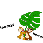 Chip 'n' Dale Summer Delight Stiker 5