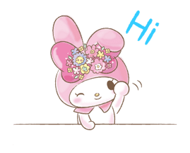 My Melody: Too Cute for You! Stickers 5