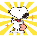 Snoopy in Disguise Stiker 5