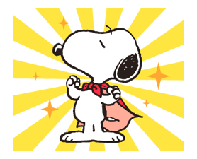 Snoopy in Disguise Stickers 5