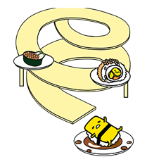 gudetama Stickers 5