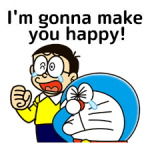 Doraemon: Citaten Stickers 5