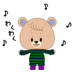 TINY ☆ ☆ TWIN BEARS pelekat 5
