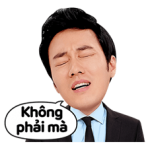 So Ji-sub Sticker Special Edition 5