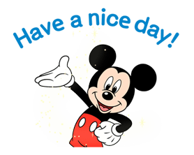 Mickey Mouse Adhesius 9