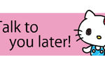 Hello Kitty's Quick Replies! Stickers 5