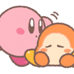 Kirby's Puffball Sticker Set 5