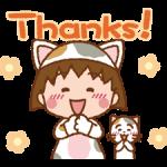 Chibi Maruko-Nyan Aufkleber 5
