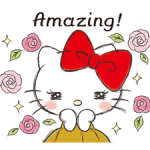 Hello Kitty adhesius Polite 5