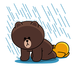 LINE Characters: Overreaction! Stickers 14