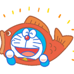 Doraemon Everyday Ekspresi Stiker 5