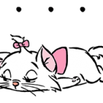 Disney Marie Stickers 5