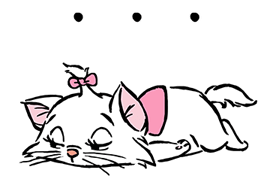 Disney Marie Stiker 5