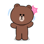 LINE Characters: Cute and Soft Stickers 5