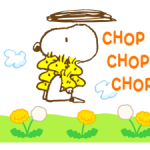 Super printemps Snoopy Autocollants 5
