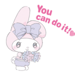 Larme My Melody Stickers x 5