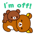 Rilakkuma: Chairoikoguma Stickers 5