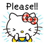 Hello Kitty đáng yêu Stickers 5