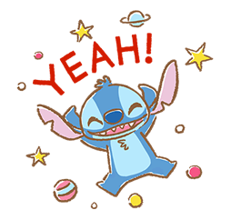 Stitch Cuteness Stickers 5