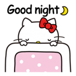 Hello Kitty pouncing Stickers 5