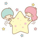 Ít Twin Stars Sparkling Stickers 9