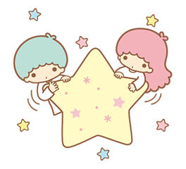 Little Twin Stars Sparkling Stickers 9