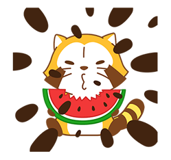Rascal Fruity Feast Stickers 7