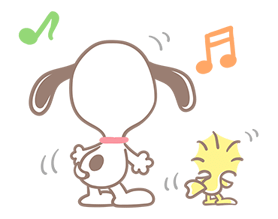 Lovely Snoopy Stickers