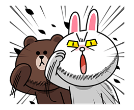 LINE Characters: Overreaction! Stickers 9