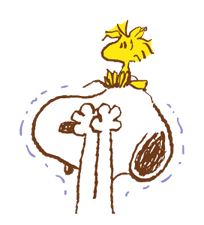 SNOOPY & Woodstock Stickers 7