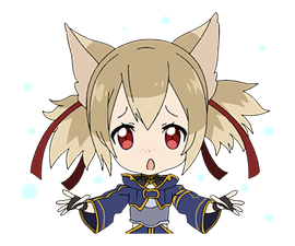 MOVING! SWORD ART ONLINE Stickers 6