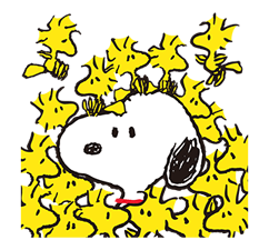 SNOOPY Stickers 6