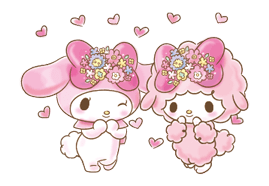My Melody: Too Cute for You! Stickers 6