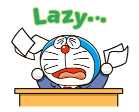Doraemon on the Job Stickers 6