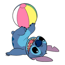 Stitch (Rowdy) Stickers 6