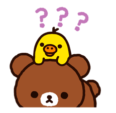 Rilakkuma~Korilakkuma with a new friend~ Stickers 6