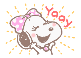 Lovely Snoopy Stickers 2