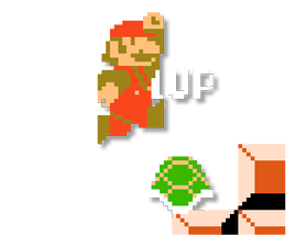 Super Mario Bros. 8-Bit Stickers 6