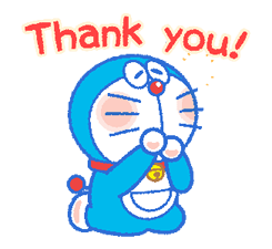 Doraemon's Everyday Expressions Stickers 6