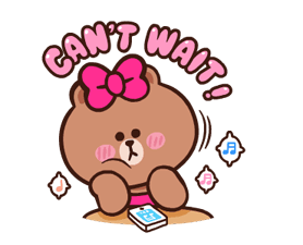 LINE Characters: Pretty Phrases Stickers 6
