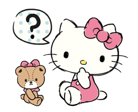 Hello Kitty's Daily Cuteness Stickers 6