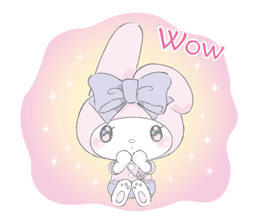 LARME x My Melody Stickers 6